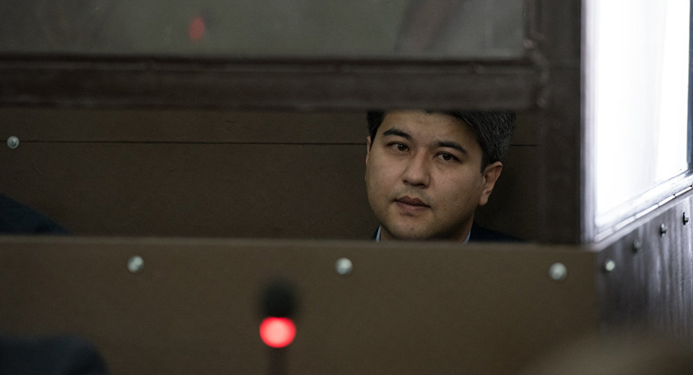 Куандык Бишимбаев во время суда