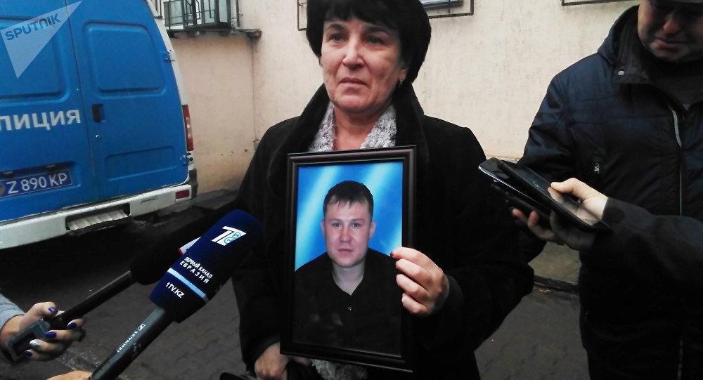 Татьяна Кривенко - мать погибшего Николая Кривенко
