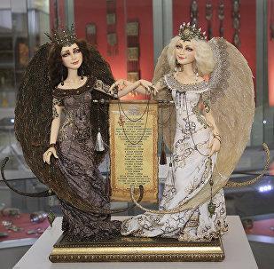 Выставка авторской интерьерной куклы
