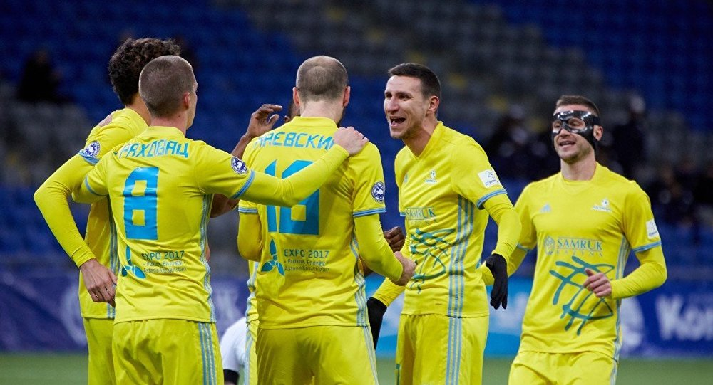 «Астана» выиграла чемпионат Казахстана, «Кайрат» Аршавина— серебряный призер