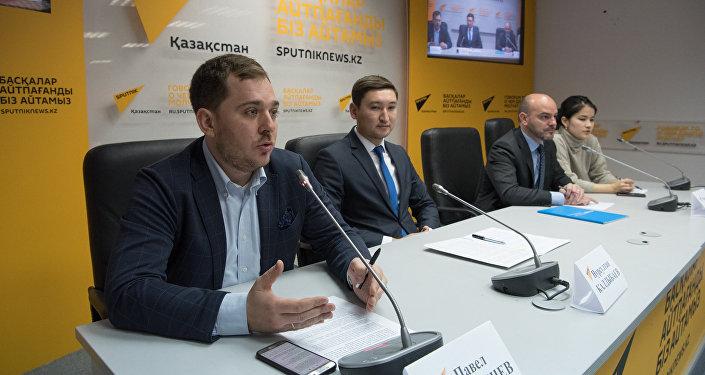 Пресс-конференция по результатам стартап-проекта Astana Innovations Challenge, запущенный летом текущего года акиматом столицы, АО Астана Innovations и Бизнес-инкубатором MOST