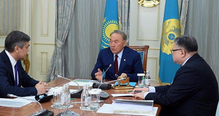 Дін істері және азаматтық қоғам министрі Нұрлан Ермекбаевпен кездесу