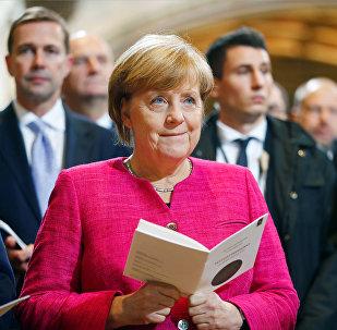Германия канцлері Ангела Меркель, архивтегі фото