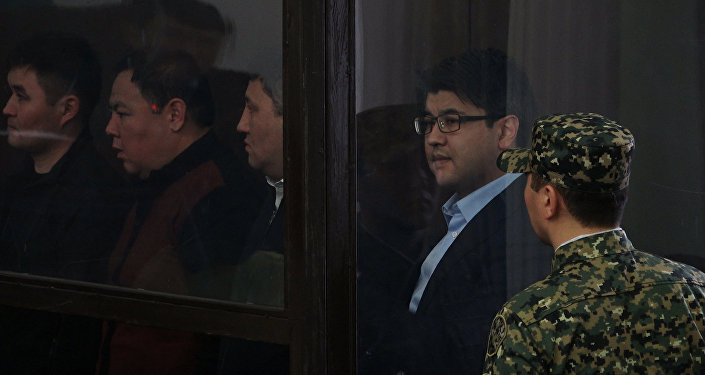 Куандыка Бишимбаева судят в Астане: кадры из зала суда