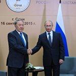 Рабочая поездка президента РФ В.Путина в Южный федеральный округ