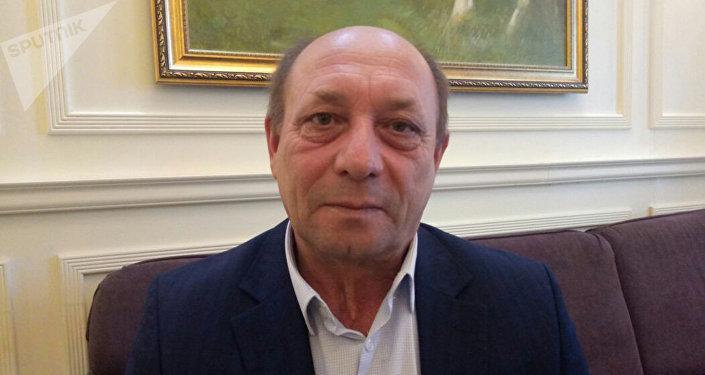 Директор общественного объединения Мейрим Александр Муха