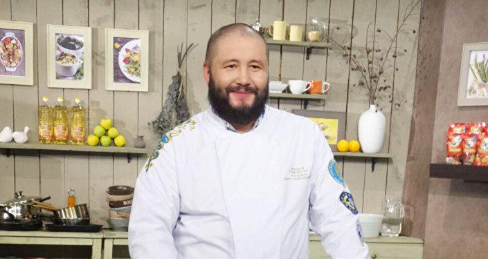Глава Ассоциации шеф-поваров Казахстана Александр Трегубенко