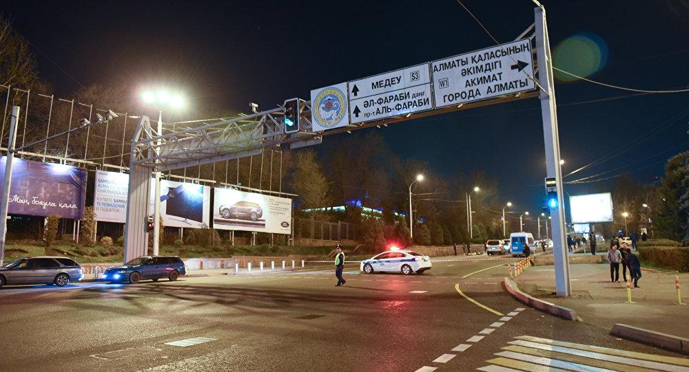 Спецоперация в центре Алматы