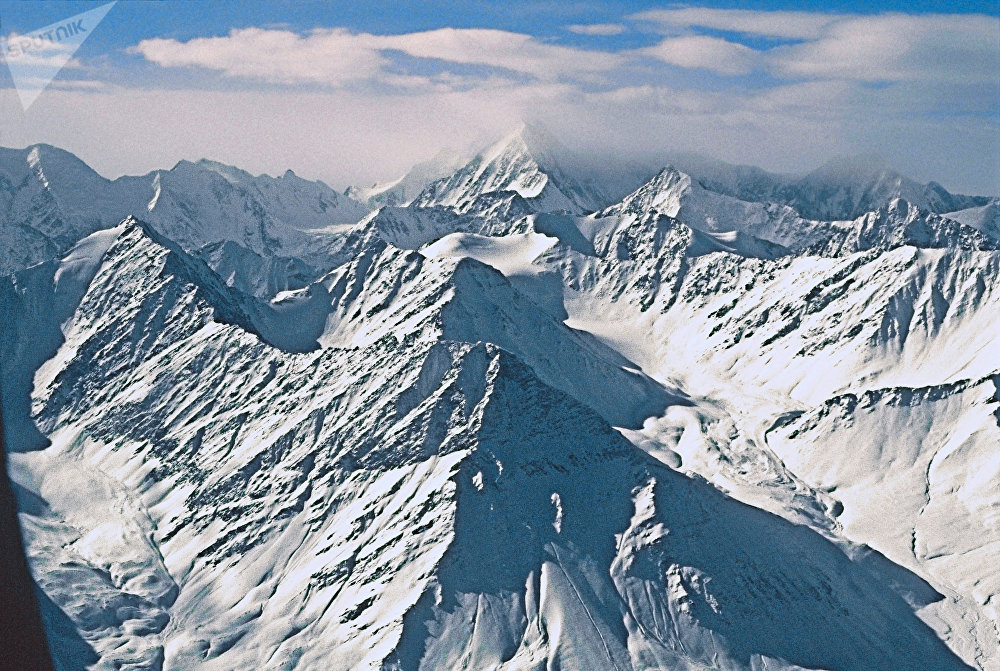 Гора Белуха в Горном Алтае