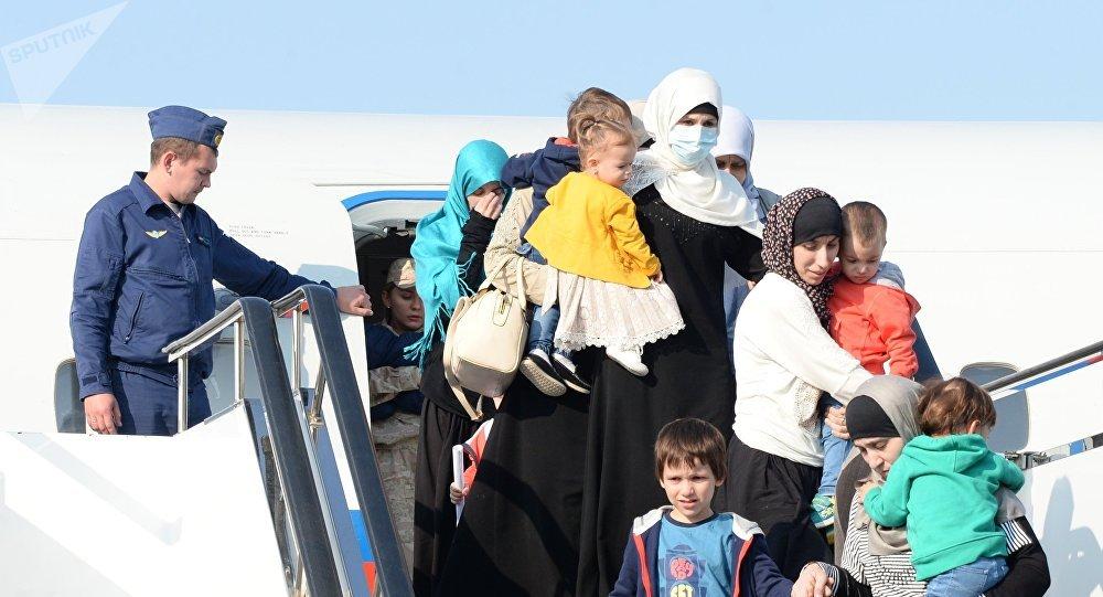 Сирияда құтқарылғандар
