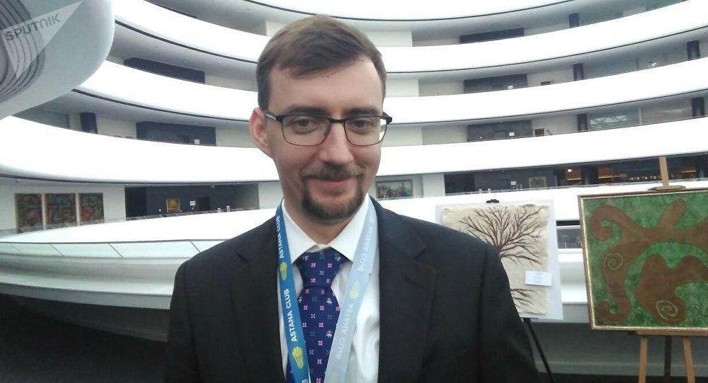 Участник Astana Club, программный директор Российского совета по международным делам Иван Тимофеев