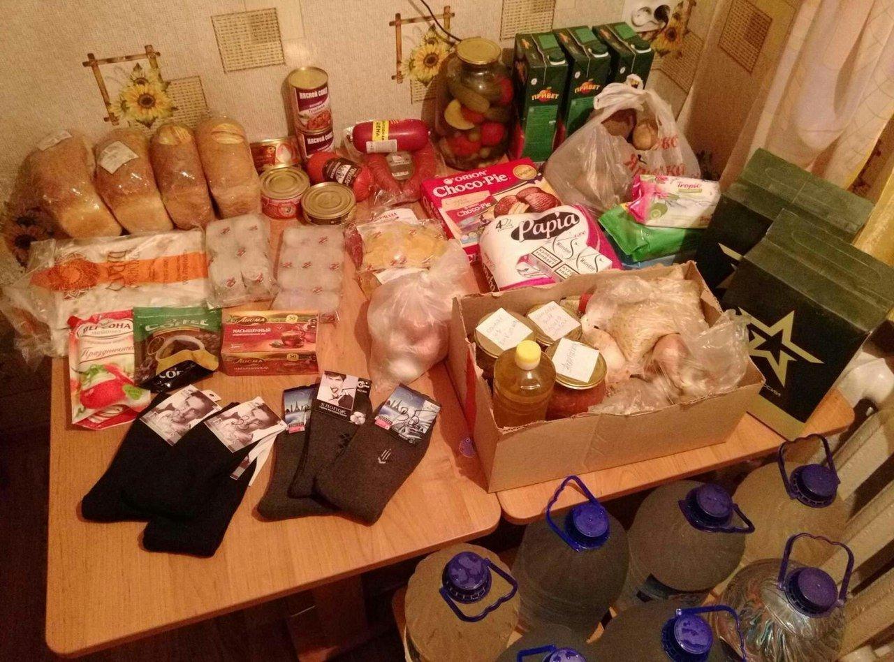 Жители Алтайского края отвезли казахстанцам продовольствие