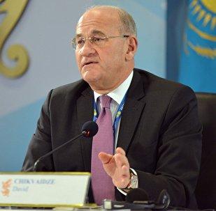Заведующий секретариатом Генерального директора женевского отделения ООН Давид Чикваидзе