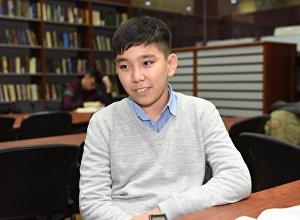 Вундеркинд Абзал Мырзаш хочет окончить вуз в 15 лет