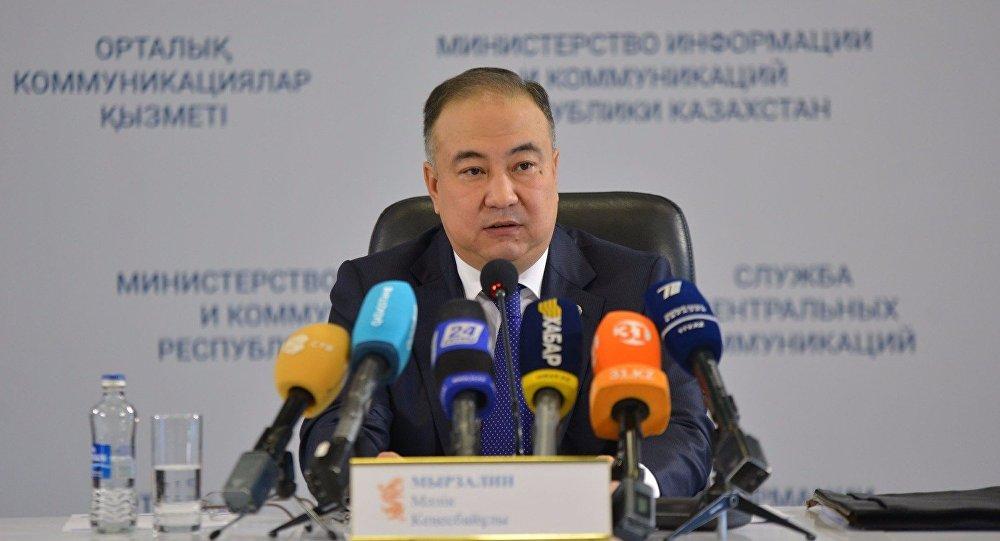 Аким Акмолинской области Малик Мурзалин