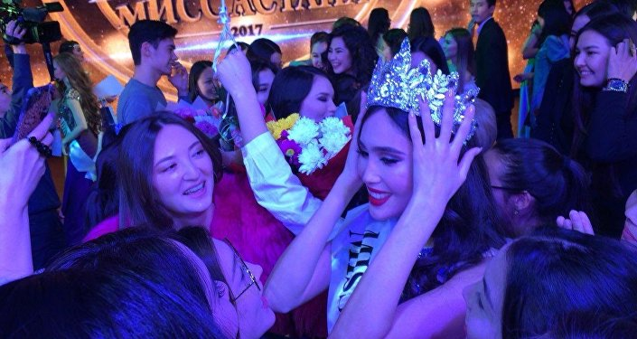 Мисс Астана-2017 Нурсулу Бегжанова