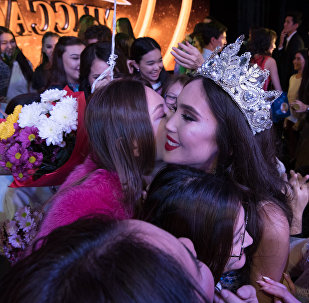 Победительница конкурса красоты Мисс Астана Нурсулу Бегжанова
