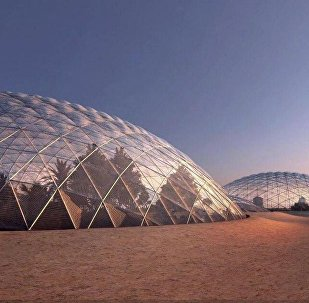 Марсианский город в Дубае