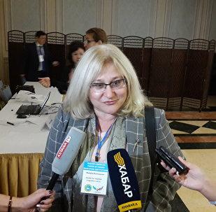 Преподаватель университета Джорджа Вашингтона Наталья Романова