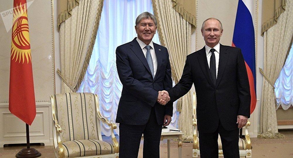 Путин встретится в северной столице спрезидентом Киргизии