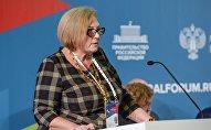 Руководитель Международного информационного агентства и радио Sputnik Казахстан Ольга Коваленко представила специальный проект Сакральный Казахстан на VI Санкт-Петербургском международном культурном форуме