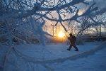 Зима, архивное фото