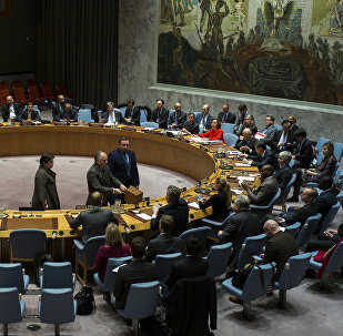 Заседание совета ООН, архивное фото