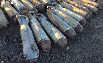 46 авиационных бомб обнаружили полицейские Талдыкоргана в пункте приема металлолома