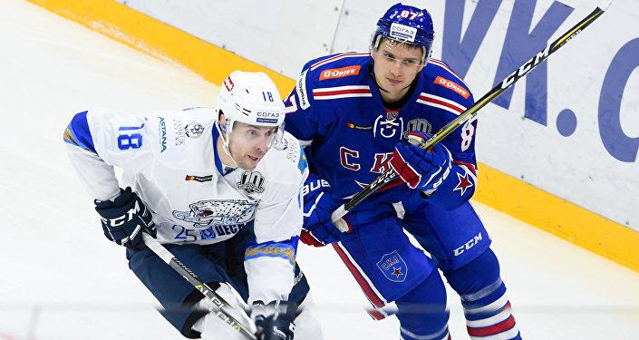 «Металлург» победил «Барыс» как правило матче КХЛ