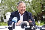 Экс-президент Кыргызстана Курманбек Бакиев, архивное фото