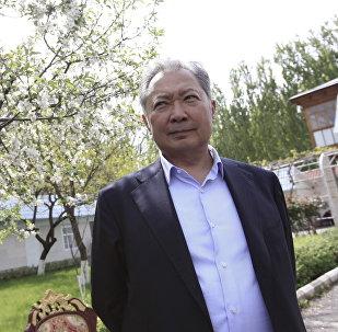Экс-президент Киргизии Курманбек Бакиев, архивное фото