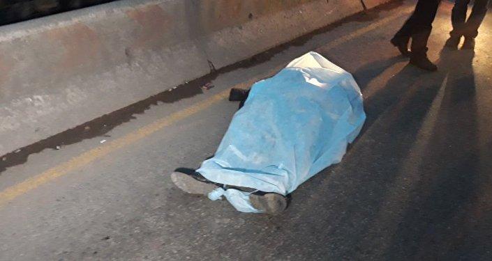 ВАлматы наРыскулова сбили пешехода