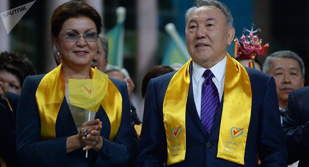 Нұрсұлтан Назарбаев пен Дариға Назарбаева