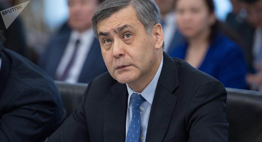 Министр по делам религий и гражданского общества РК Нурлан Ермекбаев