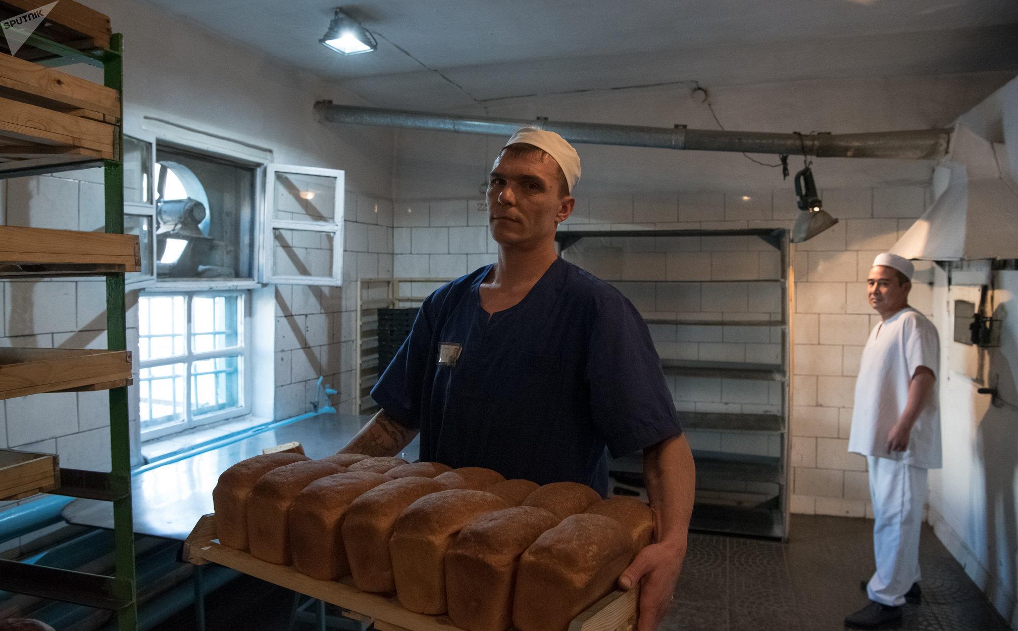 Пекарня на территории колонии