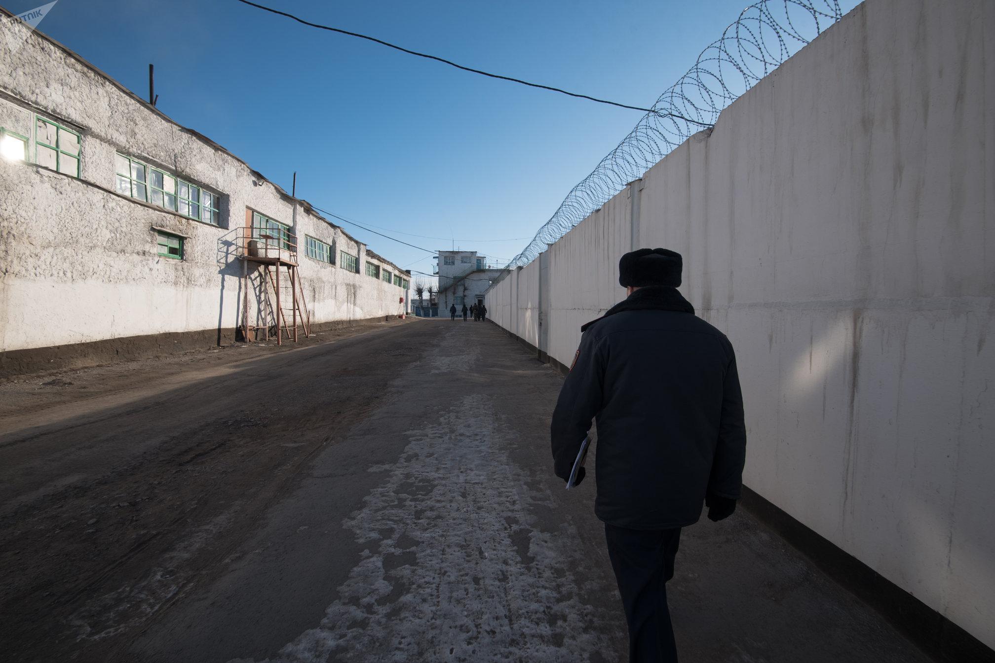 Колония чрезвычайной безопасности ЕЦ-166/5 в поселке Аршалы