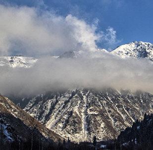 В горах Алматинской области
