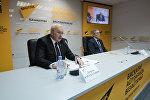 Региональный менеджер ИАТА по Центральной Азии — Джордан Карамалаков (слева)