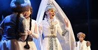 Парижде Astana Musical театрының әртістері Қыз Жібек қойылымын сахналады