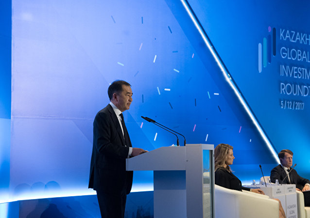 Бакытжан Сагинтаев на Международном инвестфоруме Kazakhstan Global Investment Roundtable