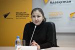 Координатор по коммуникациям Красного Полумесяца Казахстана Замзагуль Тажибаева