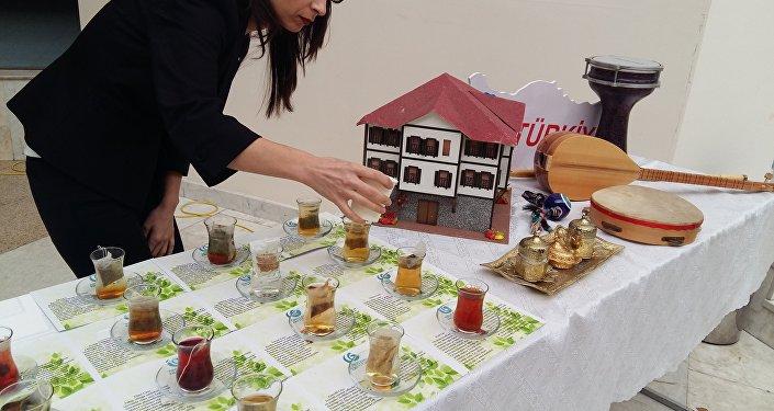 Астанада түрік шайы фестивалі өтті