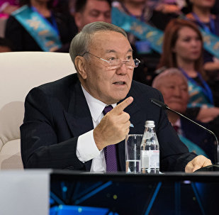 Президент Казахстана Нурсултан Назарбаев на Алтын Сапа-2017