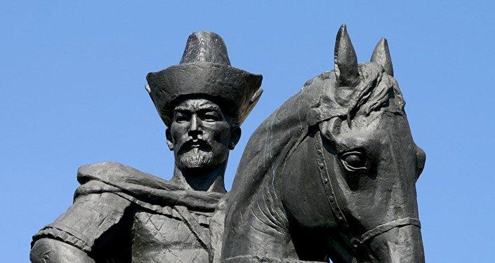 Памятник Кенесары хану в Астане