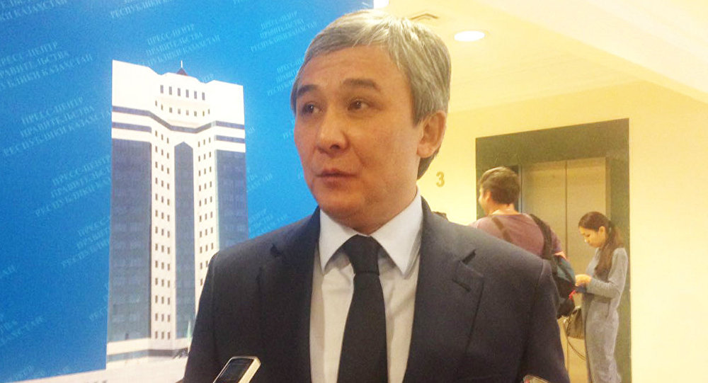 Вице-министр культуры и спорта РК Сакен Мусайбеков