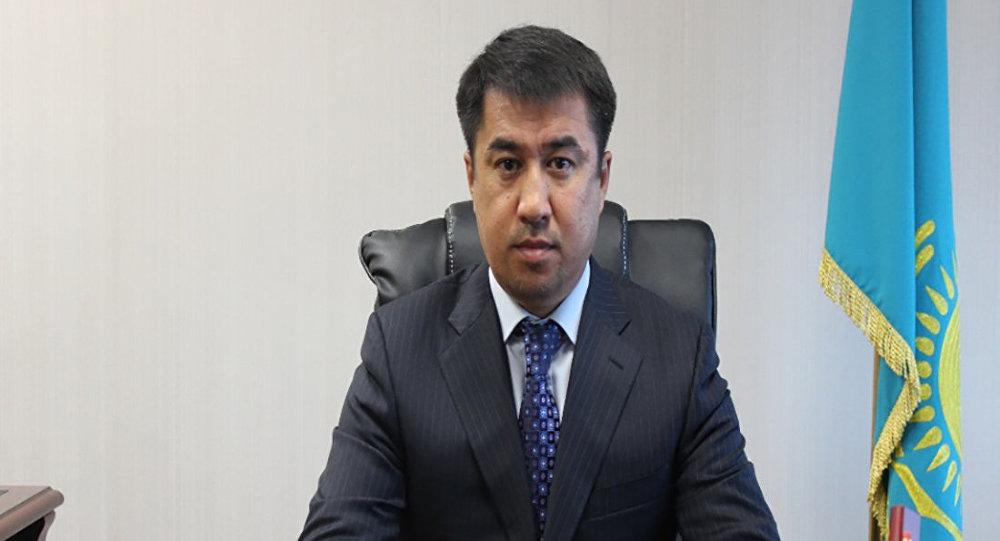 Председатель Комитета казначейства Министерства финансов РК Азамат Ахметов