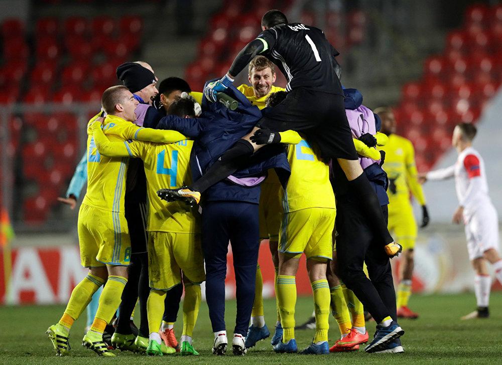 ФК Астана первым из казахстанских клубов вышел в плэй-офф еврокубков
