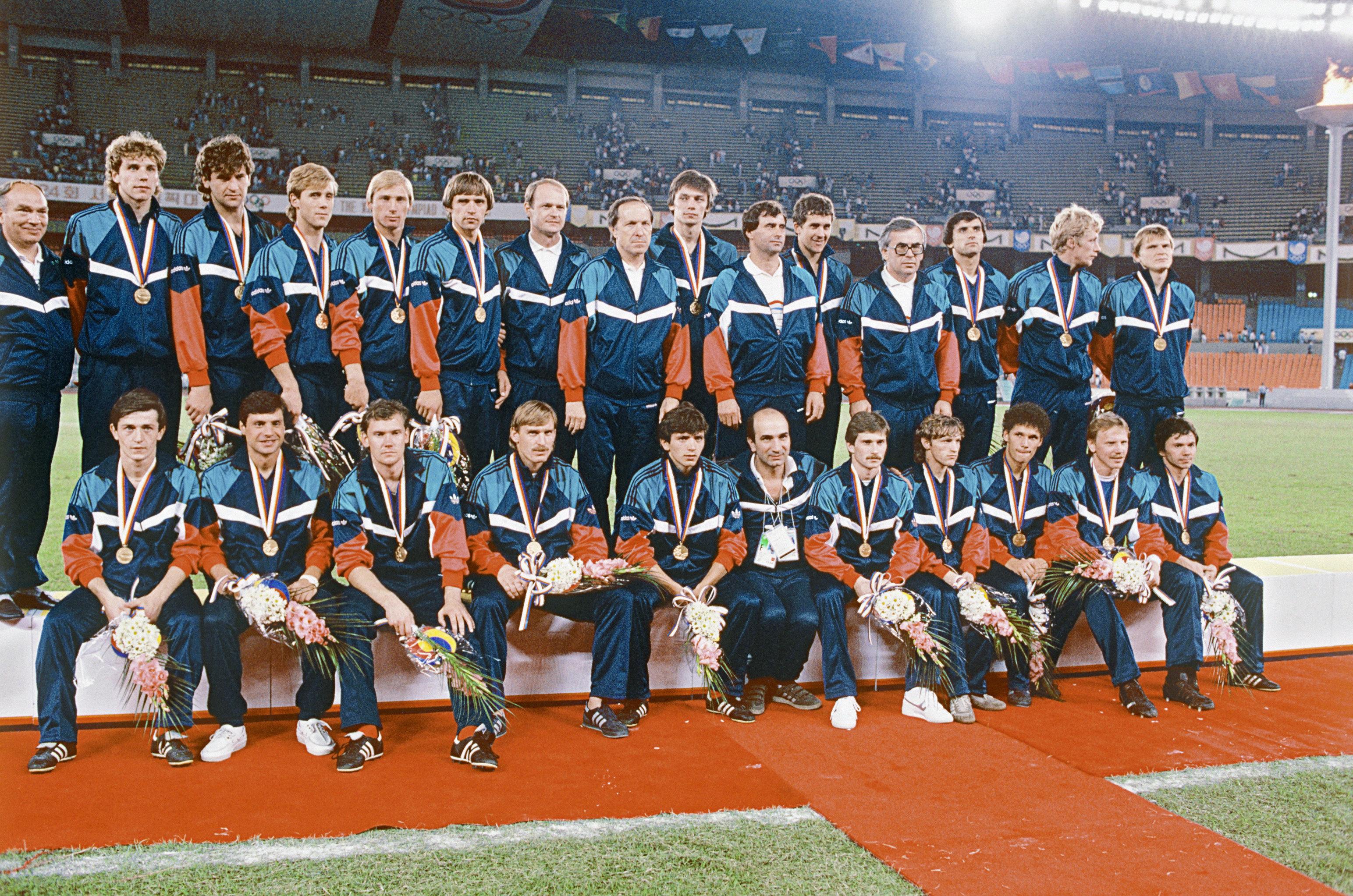Сборная команда СССР по футболу на Олимпиаде в Сеуле