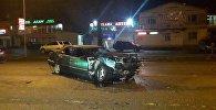 Mercedes пен Lada Largus бетпе-бет соқтығысты