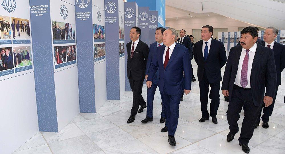 Нурсултан Назарбаев принял участие в торжественных мероприятиях по случаю 20-летия переноса столицы в Астану